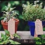 green wedding flower displays