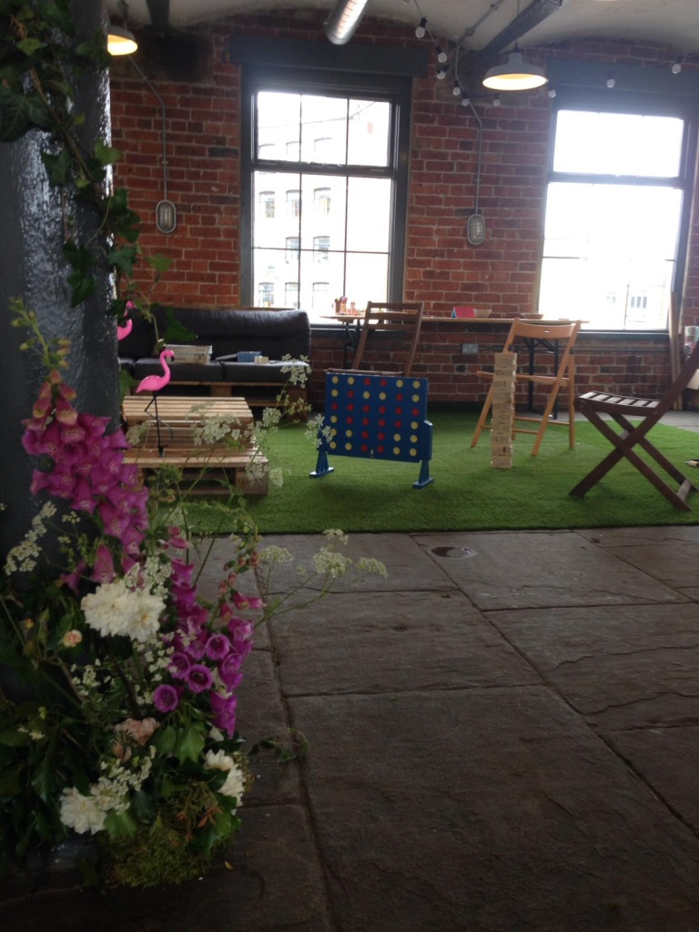 northern monk wedding floristry chapter hall flowers