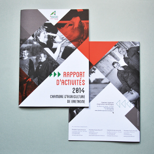Chambre régional d'agriculture - Rapport activité 2014