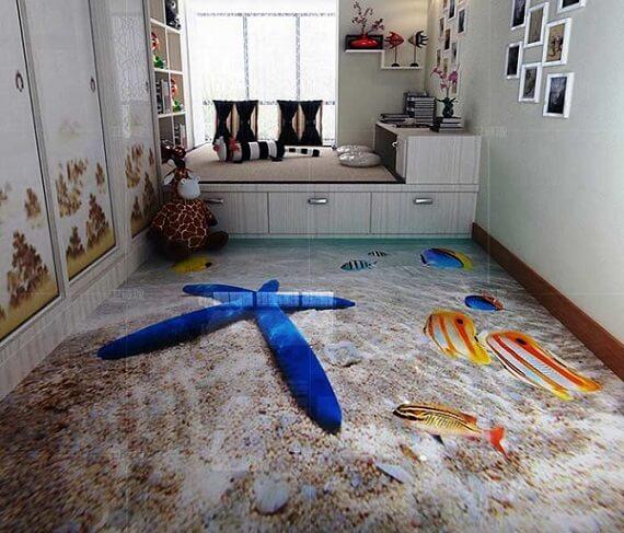 3D Acrylic Flooring