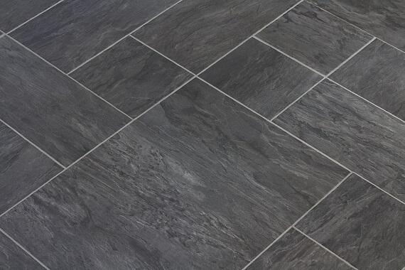 Plastic floor tiles pollex