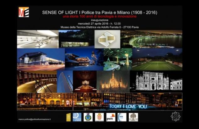 "mostra ""sense of light – i pollice tra pavia e milano (1908-2016)"""