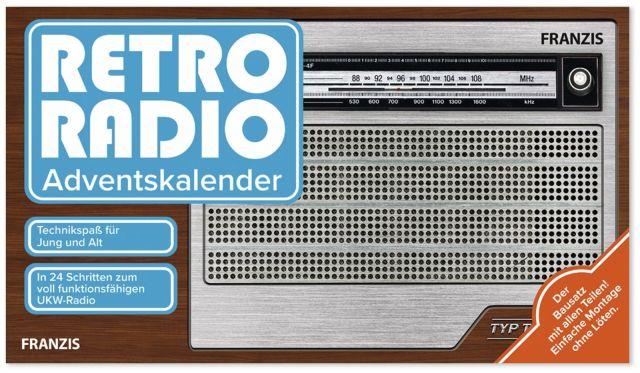 FRANZIS, Retro-Radio, Adventskalender, 2020 online kaufen | Pollin.de