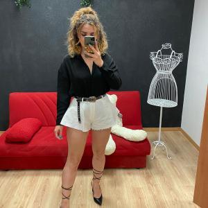 Camicia di lino black