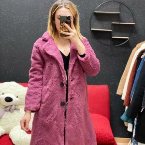 Teddy lungo rosa