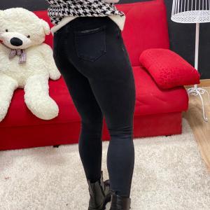 Jeans skinny black