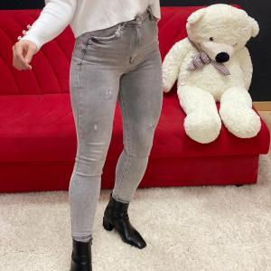 Jeans skinny grey