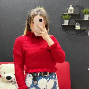 Maglione venere rosso