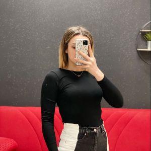 Jeans bicolore black