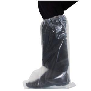 Buty jednorazowe długie z gumką-0
