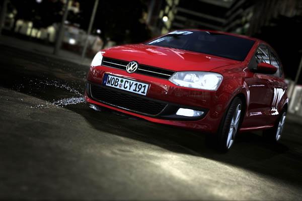 2009 VW Polo animation