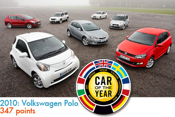 Volkswagen Polo is European Car of the Year 2010