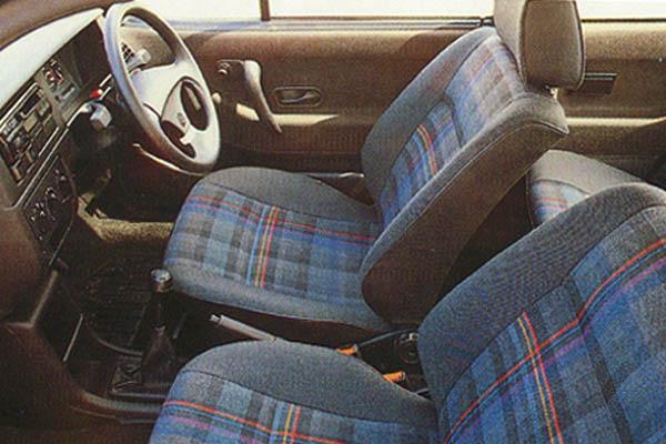 1993 Volkswagen Polo Genesis interior