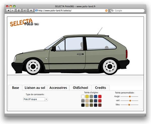 Polo Selecta Mk 2F