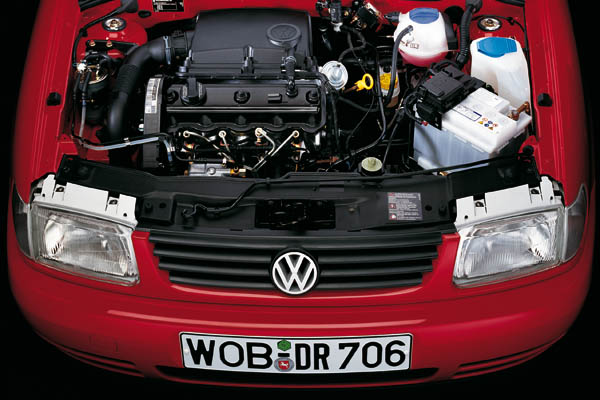 1994 Volkswagen Polo engine