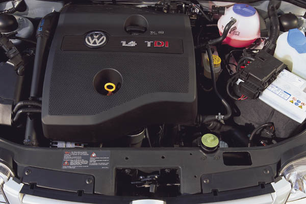 1999 Volkswagen Polo TDI engine