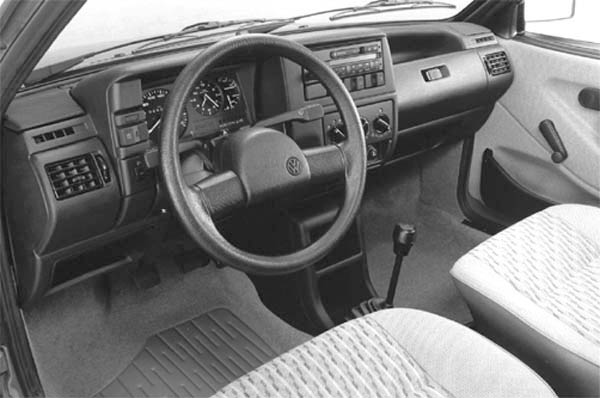 1990 Volkswagen Polo CL interior