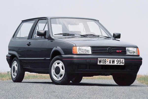 1990 Volkswagen Polo GT hatchback