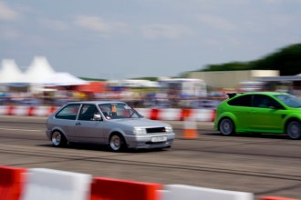 GTI International 2010: Philip Camsell's Polo GT on the sprint