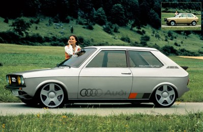 Audi 50 'Rally' by Littlepixel