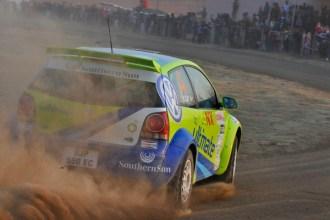 2010 Osram Rally: Enzo Kuun/Guy Hodgson Polo S200