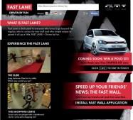 2010 Volkswagen Polo GTI: Facebook digital market launch