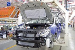 2010 Volkswagen Polo Vivo production at Uitenhage, South Africa