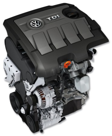 2010 Volkswagen TDI engine