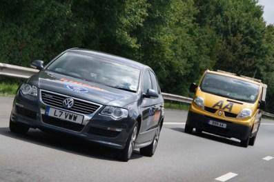 Fuel economy record set by Volkswagen Passat