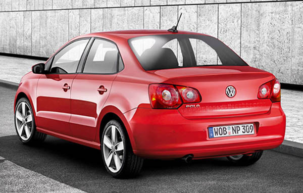 2010 Volkswagen Polo Sedan rendering