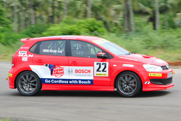 Prasad Double Victory In Volkswagen Polo R Cup India 2011 Season