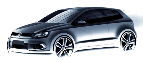 Volkswagen Polo rendering