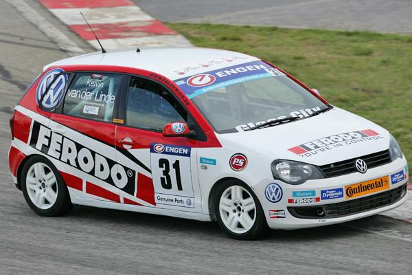 2012 Engen Volkswagen Cup, Kyalami: Kelvin van der Linde