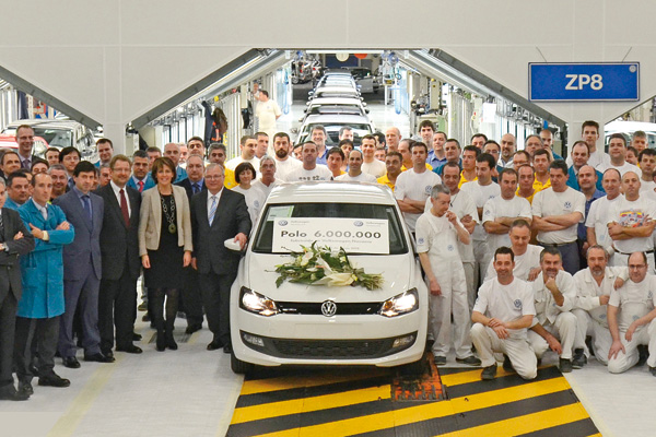 Volkswagen Navarra: six-millionth Polo