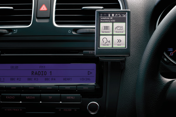 2012 Volkswagen Touch Phone Kit