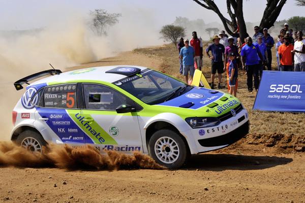 2012 Polokwane Rally: Fekken/Arries