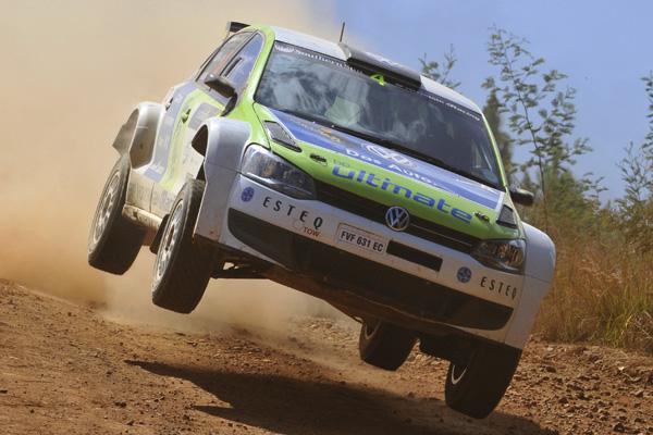 2012 Sasol Rally: Kuun/Hodgson