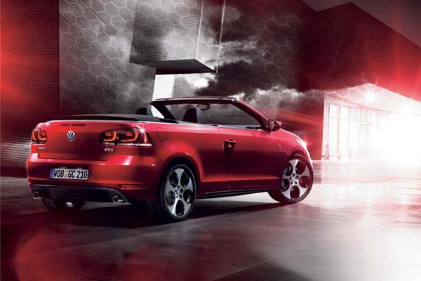 2012 Volkswagen Golf GTi Cabriolet