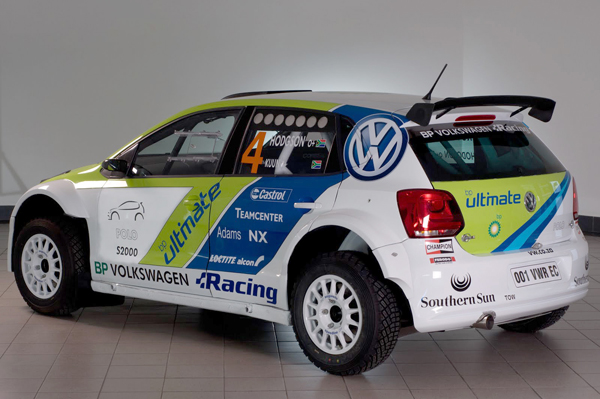 2012 Volkswagen Racing South Africa Polo S2000