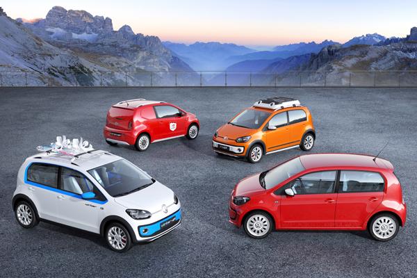 2012 Volkswagen Up Geneva motor show concepts