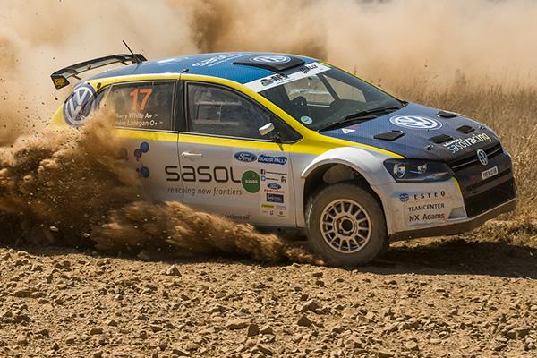 2013 Ford Dealer Rally: Lategan/White