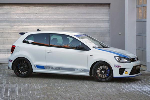2013 Volkswagen Polo R WRC Street by MTM