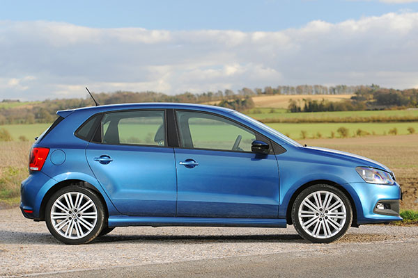 2013 Volkswagen Polo BlueGT (UK)
