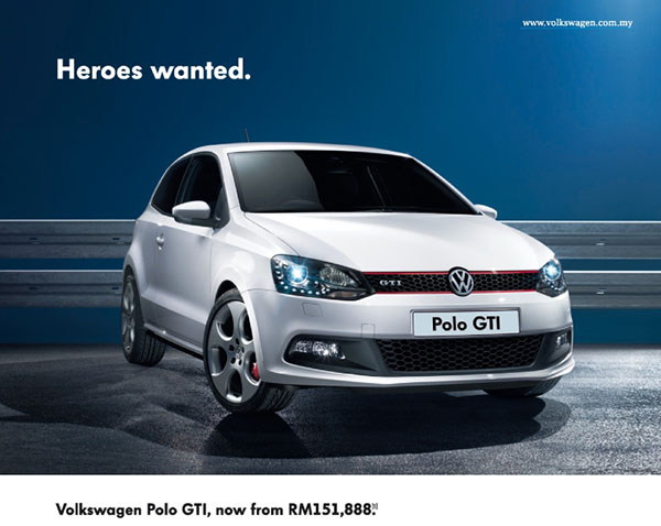 heroes wanted – volkswagen malaysia reduces price of polo gti