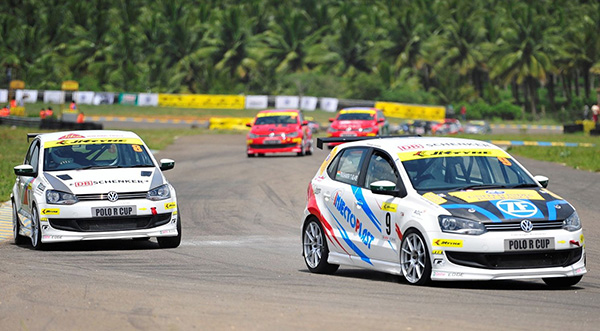 Volkswagen Polo R-Cup India 2013: Coimbatore, Kruger and Tharani