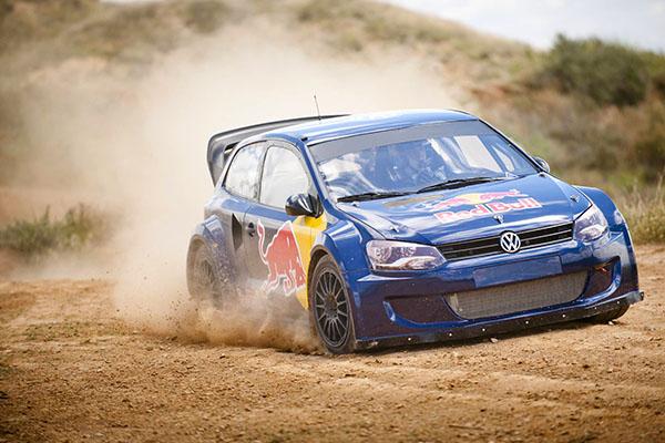 2013 Volkswagen Polo R Rallycross (Carlos Sainz)