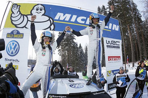 Volkswagen Polo R WRC: 2013 Rally Sweden