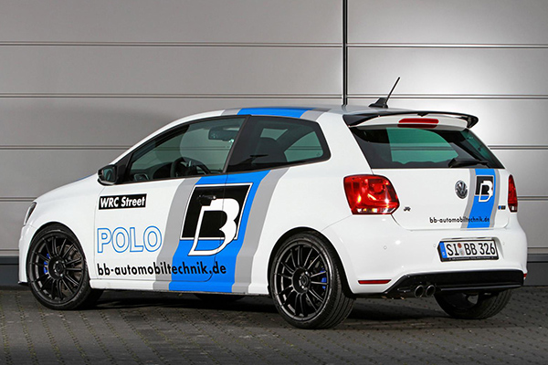 More Powerful Than A Rally Car 362bhp Polo R Wrc Street By Bb