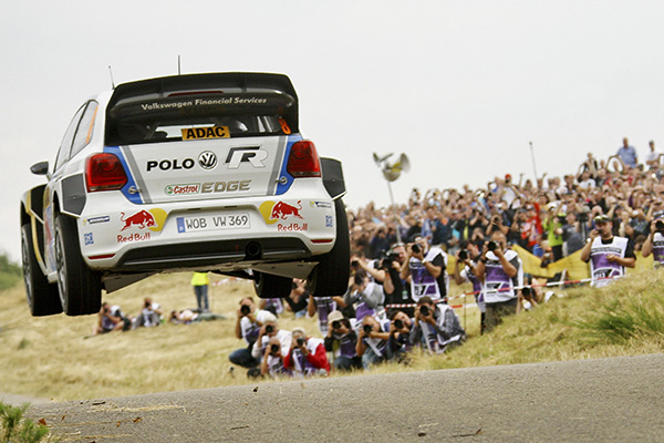 2013 Volkswagen Polo R WRC: Rally Germany, Ogier/Ingrassia