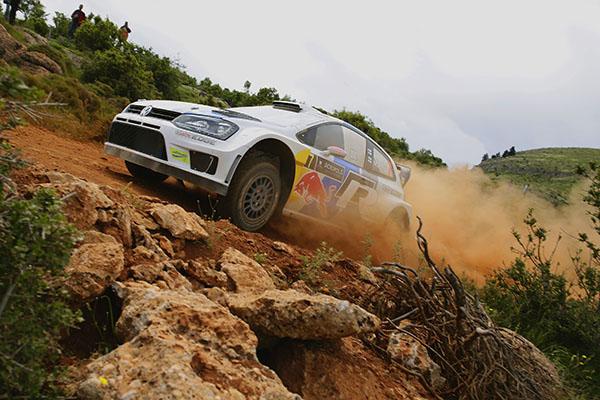 2013 Volkswagen Polo R WRC, Rally Greece: Latvala/Antilla